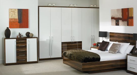 Bedroom design in Northampton