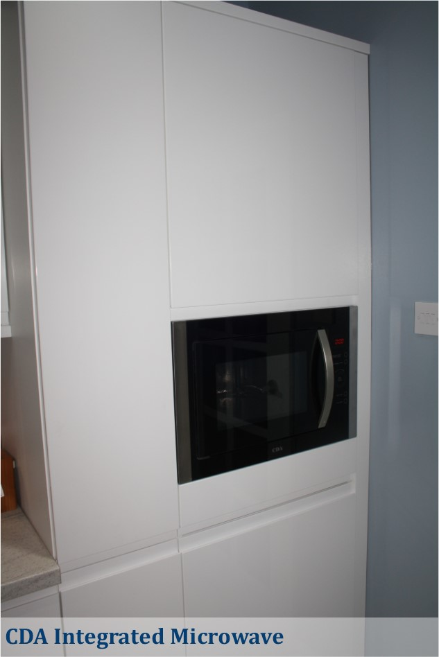 CDA integrated microwave