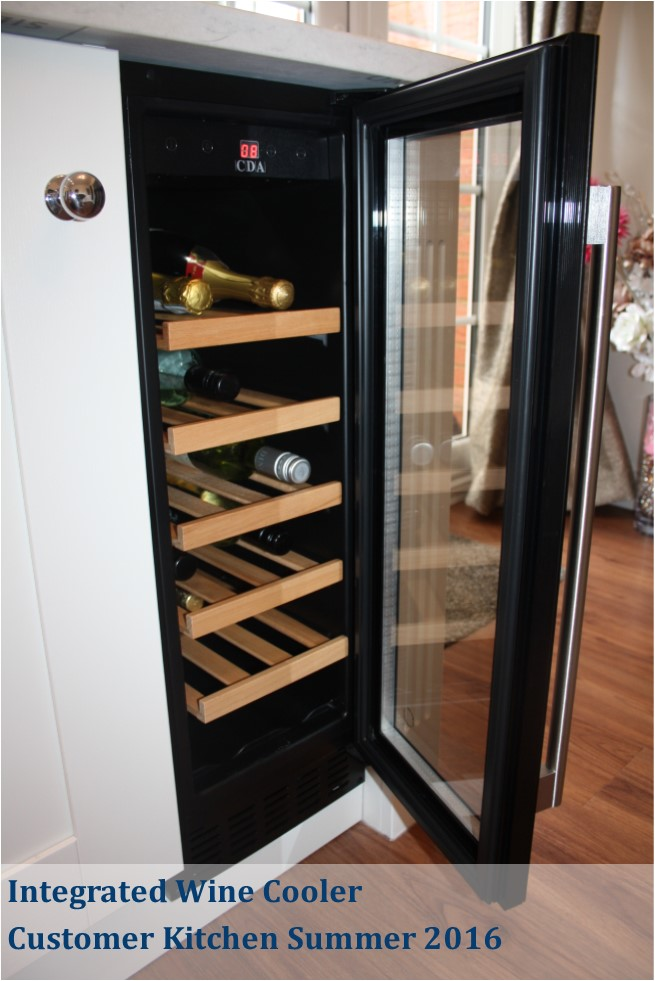 integrated wine cooler maddison kitchen