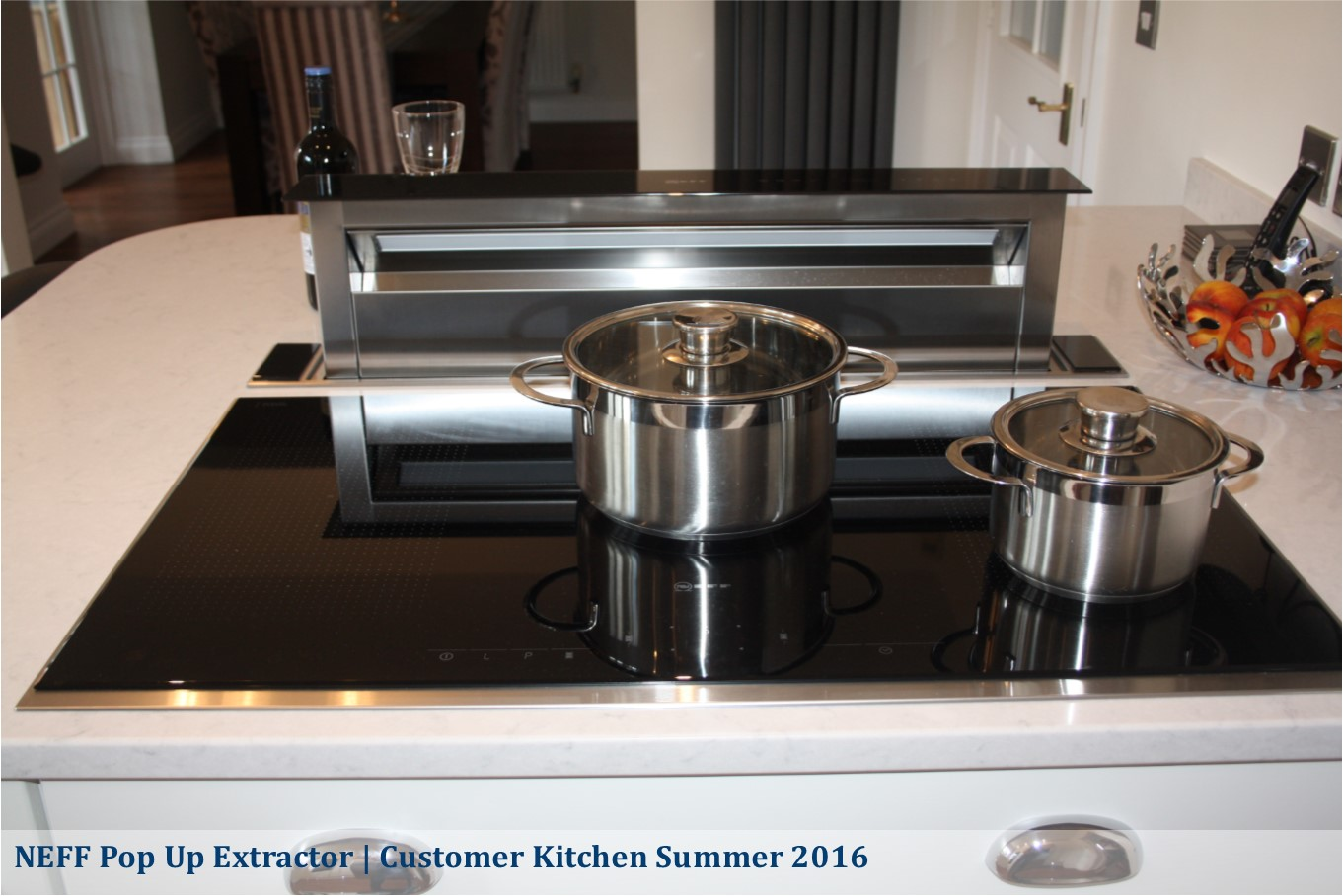 neff pop up extractor in maddison painted shaker
