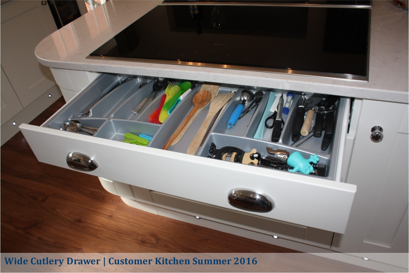 wide cutlery drawer maddison shaker