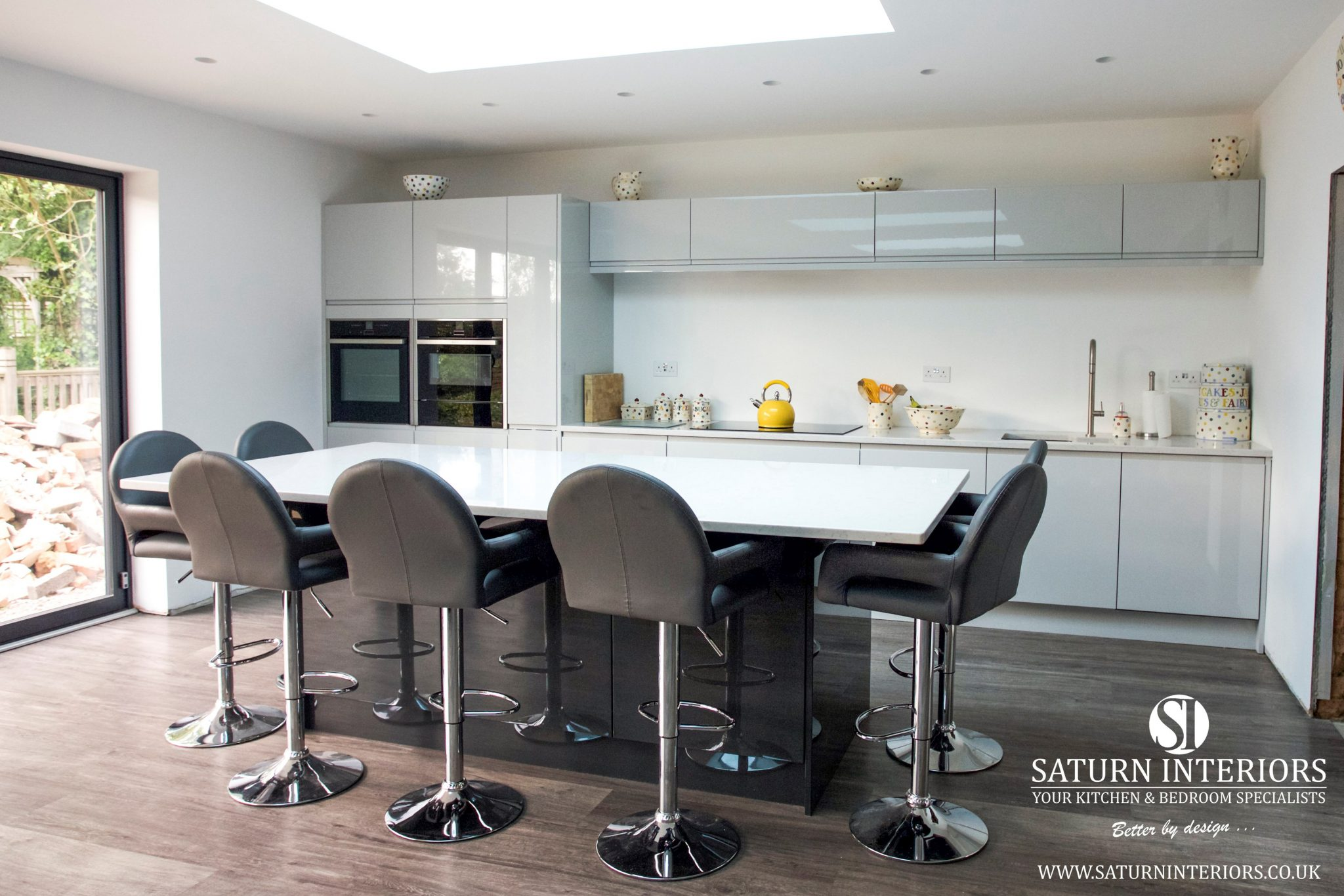 Finished Kitchen in Wootton from Saturn Interiors