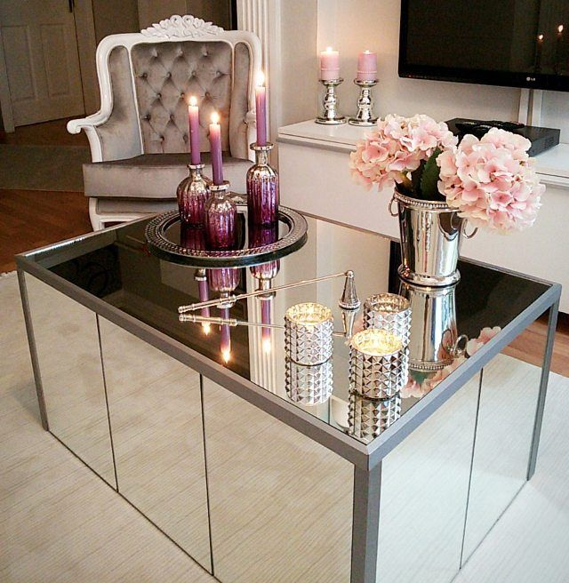 Mirrored Furniture Inspiration To Bring Elegance To Your Home