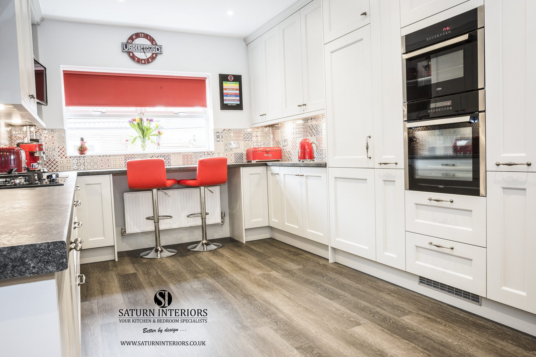 Modern Kitchen fitted by Saturn Interiors