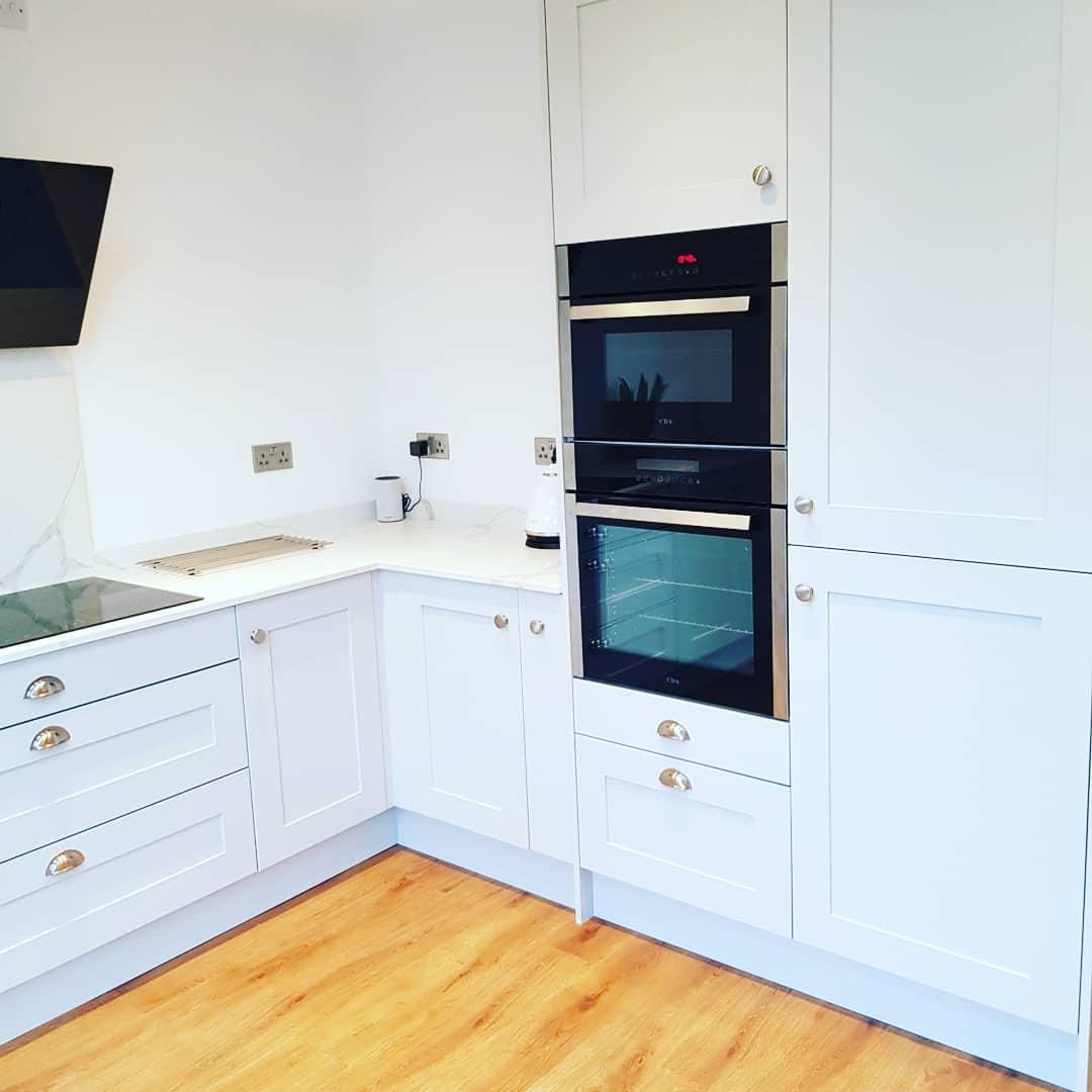 Madison Shaker Kitchen in Light Grey