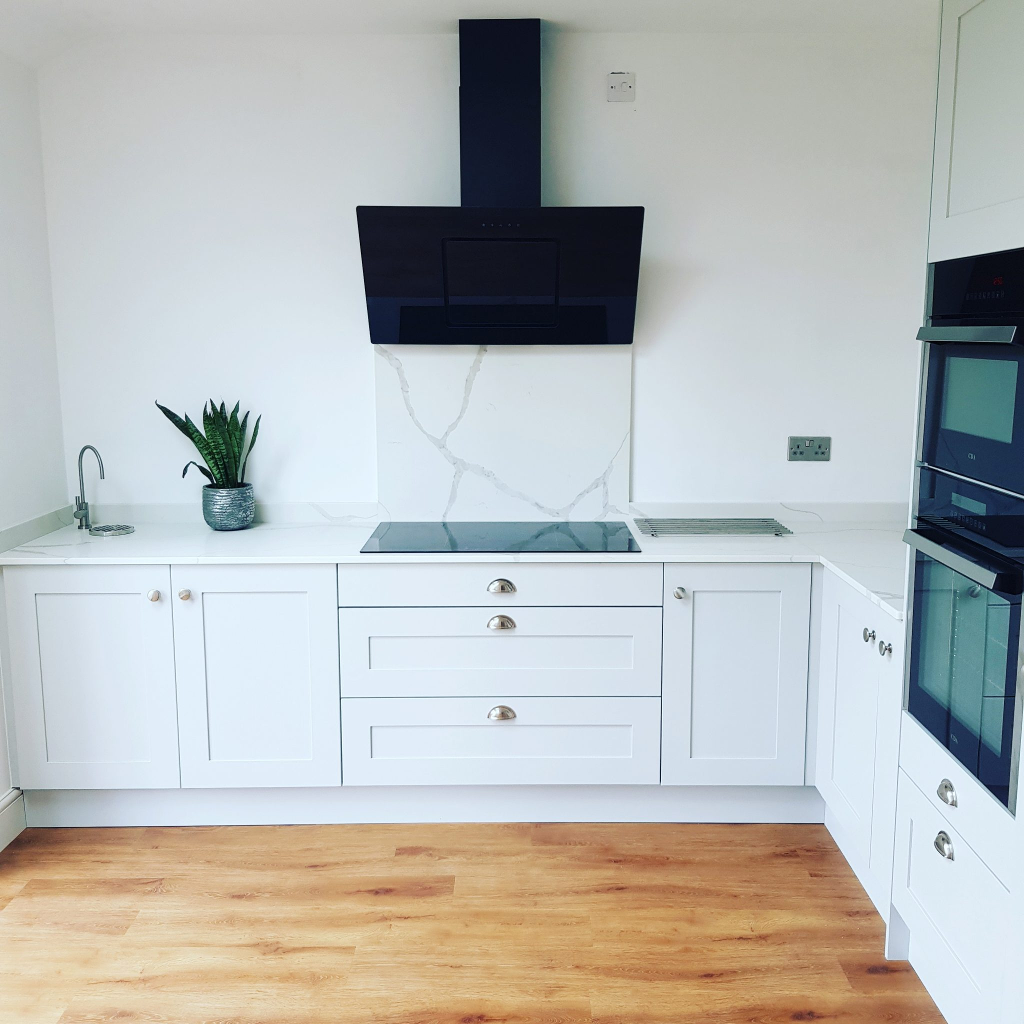 Madison Shaker Kitchen in Light Grey