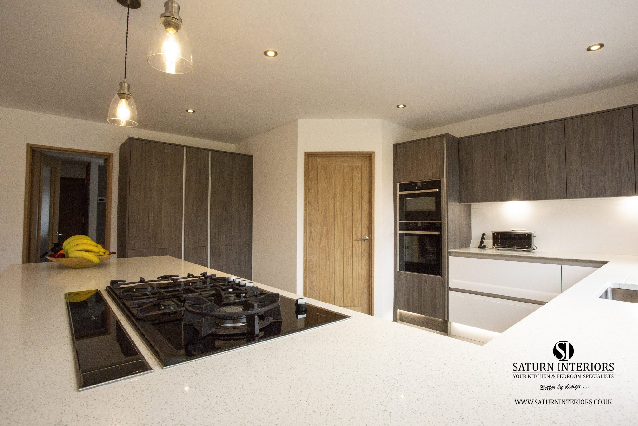 Finished Kitchen in Yardley Hastings