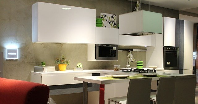 image of a modern kitchen layout representing kitchen trends to follow in 2020