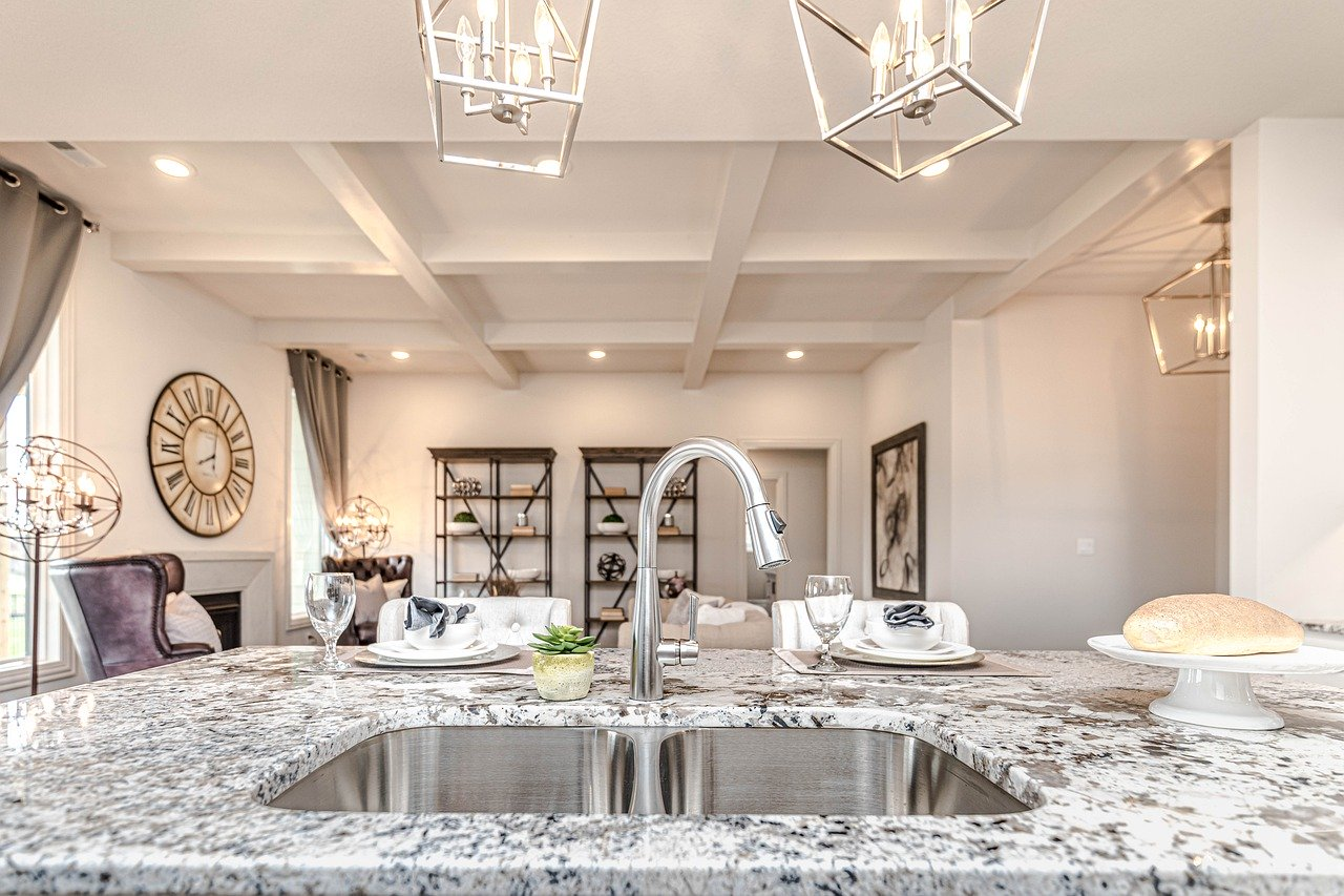 image of kitchen worktop as a part of how to design a sophisticated kitchen