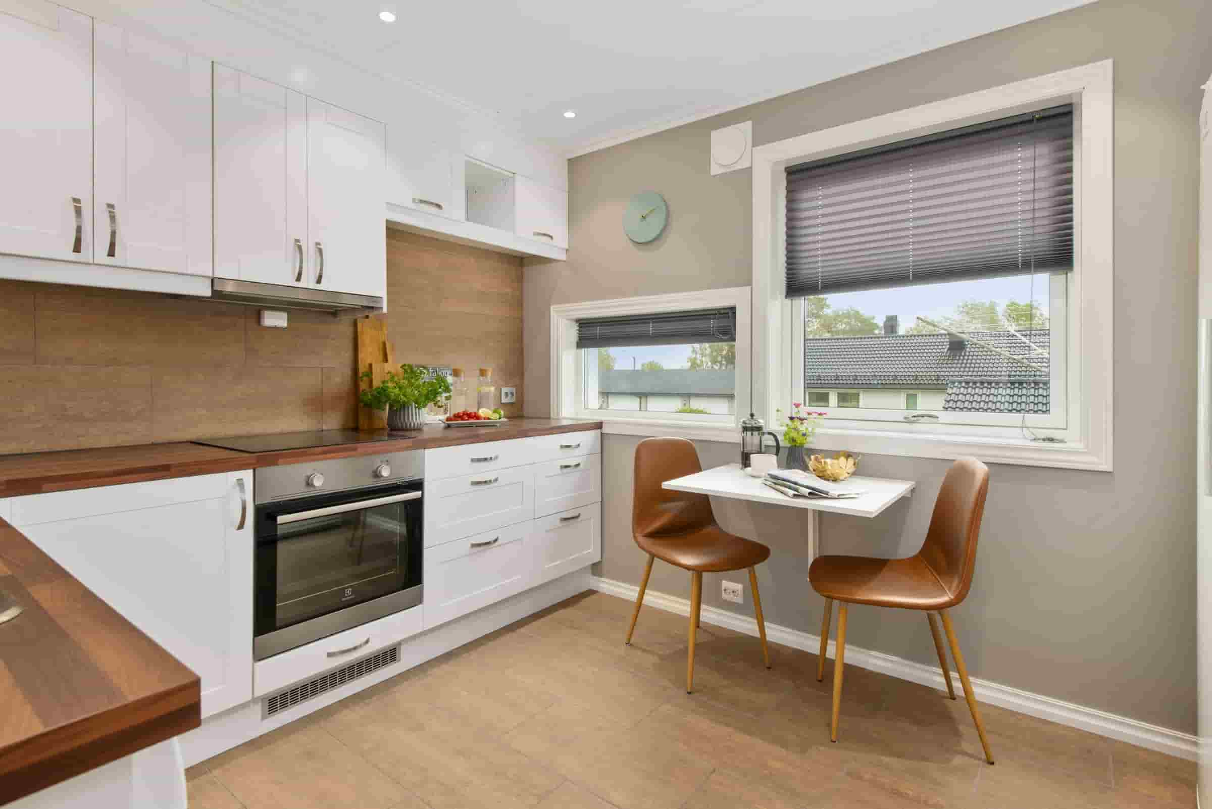 Low Maintenance Kitchen Materials; A Simple But Well-designed Kitchen